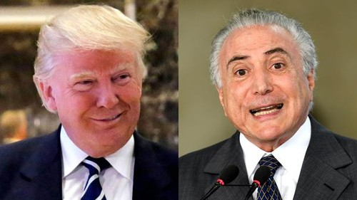 Presidente electo de Estados Unidos promete a cooperar con Brasil por un mayor crecimiento - ảnh 1