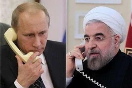 Presidentes de Irán y Rusia conversan sobre la lucha contra el terrorismo - ảnh 1