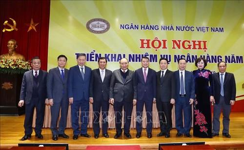 Banca vietnamita revisa trabajos realizados y adopta tareas futuras - ảnh 1