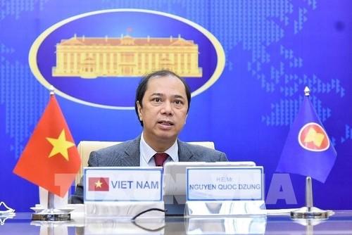 Vietnam y los demás miembros de la Asean acuerdan usar el Fondo regional de respuesta al covid-19 para adquirir vacunas - ảnh 1