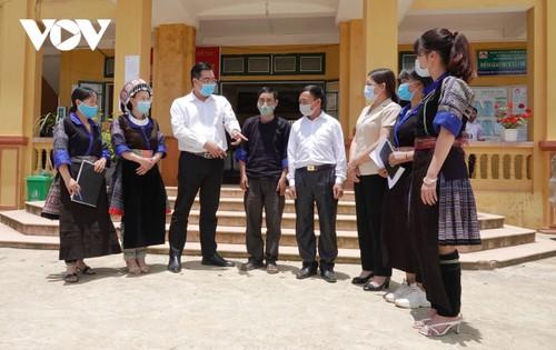 Los vietnamitas, listos para las votaciones y confiados en la renovación del Parlamento - ảnh 1