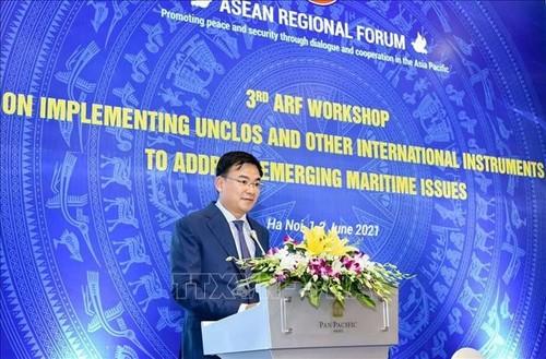 Vietnam insiste en la importancia del respeto del Derecho del Mar - ảnh 2