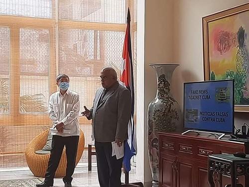 Embajada cubana en Hanói informa sobre los sucesos del 11 de julio  - ảnh 1