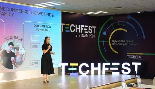 La fête de l'entrepreneuriat, de l'innovation et de la créativité Techfest 2020 - ảnh 1