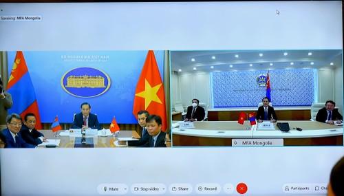 Consultation politique Vietnam - Mongolie - ảnh 1