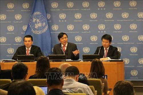 Mission du Vietnam auprès du Conseil de sécurité de l'ONU en 2020 - ảnh 1