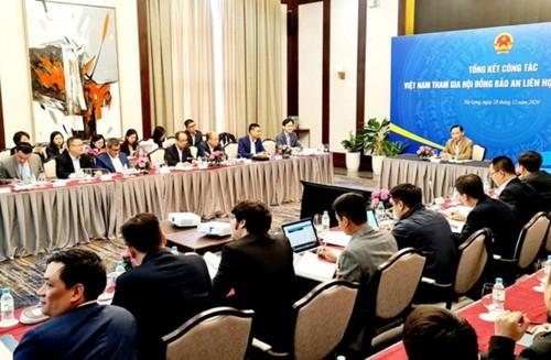 Bilan des activités du Vietnam au Conseil de sécurité de l'ONU en 2020 - ảnh 1