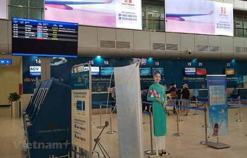 L'aéroport international de Cam Ranh recoit l'accréditation sanitaire AHA - ảnh 1