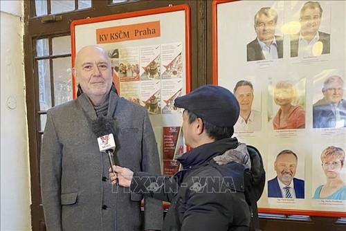 Un parlementaire tchèque se déclare confiant dans le succès du 13e Congrès national du PCV - ảnh 1