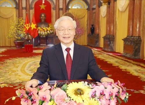 Messages de félicitations des dirigeants du monde à Nguyên Phu Trong - ảnh 1