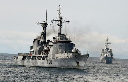 Nigéria: un grand exercice naval international contre la piraterie - ảnh 1