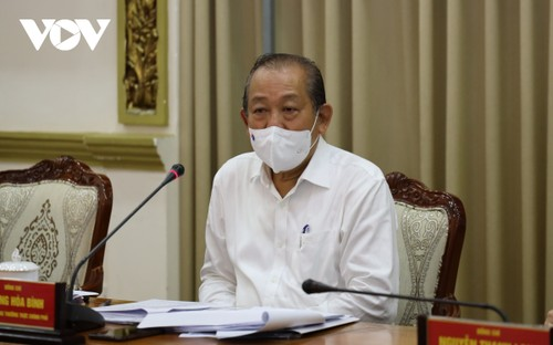 Truong Hoà Binh: «Il est urgent de maîtriser la situation à Hô Chi Minh-ville» - ảnh 1