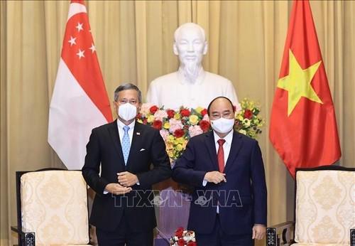 Dynamiser la coopération Vietnam - Singapour - ảnh 1