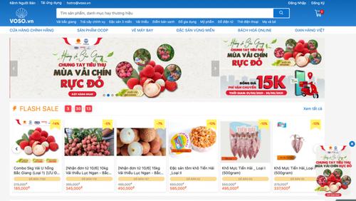 Vendre les produits agricoles en ligne    - ảnh 1