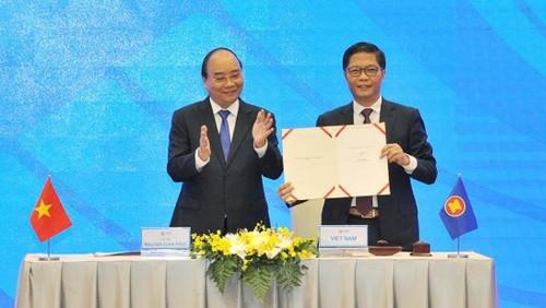 Intégration économique: sur les ailes des accords de libre-échange - ảnh 1