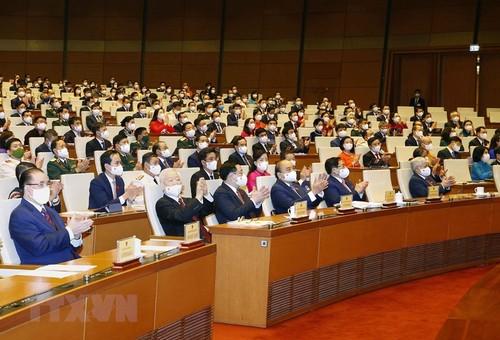 Discours de Nguyên Phu Trong à l'ouverture de la première session de l'Assemblée nationale, 15e législature    - ảnh 2
