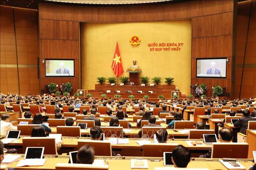 Discours de Nguyên Phu Trong à l'ouverture de la première session de l'Assemblée nationale, 15e législature    - ảnh 1