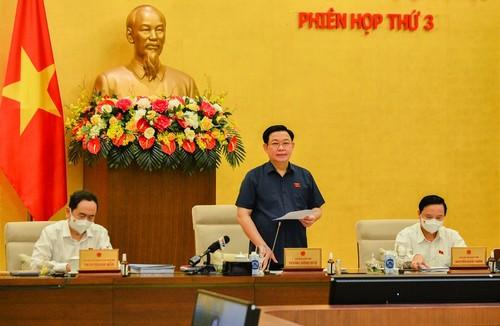 Ouverture de la troisième session du comité permanent de l'Assemblée nationale - ảnh 1
