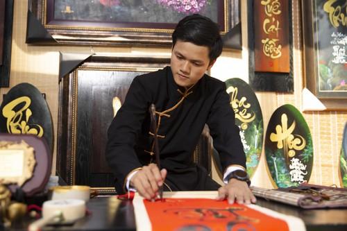Dô Nhât Thinh: la calligraphie prend un coup de jeune   - ảnh 1