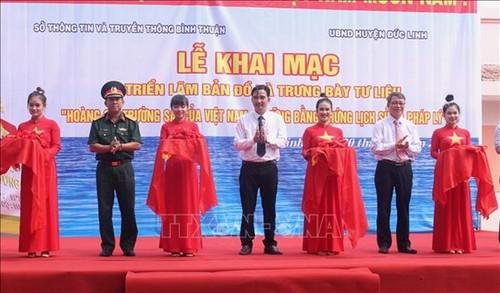 Hoang Sa, Truong Sa exhibition underway in Binh Thuan - ảnh 1