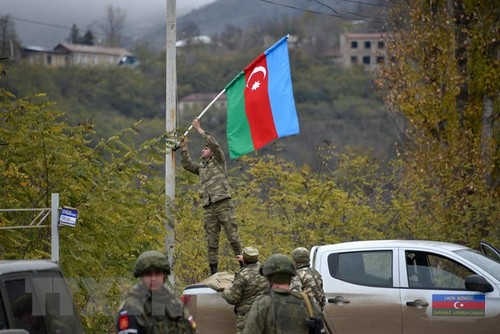 Major countries call for withdrawal of foreign mercenaries from Nagorno-Karabakh - ảnh 1