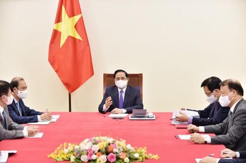 Vietnam, Canada promote Comprehensive Partnership and COVID-19 response  - ảnh 1