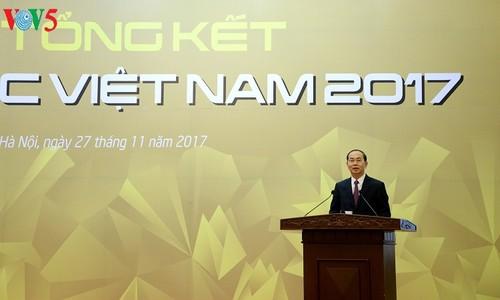 Chủ tịch nước Trần Đại Quang dự lễ tổng kết Năm APEC 2017 - ảnh 1