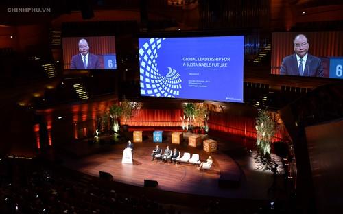 Việt Nam khẳng định chung tay hiện thức hóa các mục tiêu xanh toàn cầu - ảnh 1