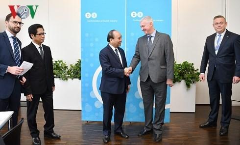 Thủ tướng đề nghị doanh nghiệp Việt Nam-Đan Mạch thúc đẩy EVFTA  - ảnh 2