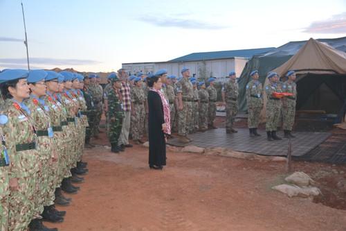 Bệnh viện Dã chiến cấp 2 Việt Nam triển khai tiếp nhận bệnh nhân tại Nam Sudan  - ảnh 10