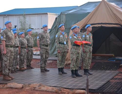 Bệnh viện Dã chiến cấp 2 Việt Nam triển khai tiếp nhận bệnh nhân tại Nam Sudan  - ảnh 11