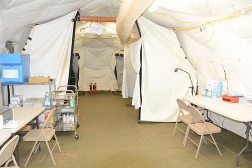 Bệnh viện Dã chiến cấp 2 Việt Nam triển khai tiếp nhận bệnh nhân tại Nam Sudan  - ảnh 13