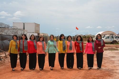 Bệnh viện Dã chiến cấp 2 Việt Nam triển khai tiếp nhận bệnh nhân tại Nam Sudan  - ảnh 15