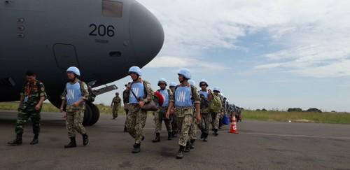 Bệnh viện Dã chiến cấp 2 Việt Nam triển khai tiếp nhận bệnh nhân tại Nam Sudan  - ảnh 1