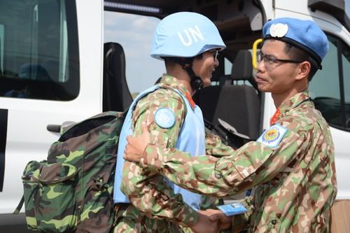 Bệnh viện Dã chiến cấp 2 Việt Nam triển khai tiếp nhận bệnh nhân tại Nam Sudan  - ảnh 2
