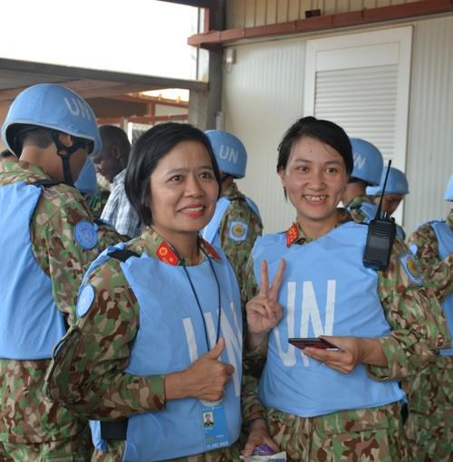 Bệnh viện Dã chiến cấp 2 Việt Nam triển khai tiếp nhận bệnh nhân tại Nam Sudan  - ảnh 3