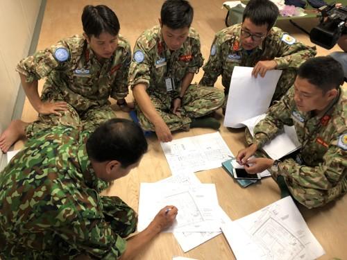 Bệnh viện Dã chiến cấp 2 Việt Nam triển khai tiếp nhận bệnh nhân tại Nam Sudan  - ảnh 5