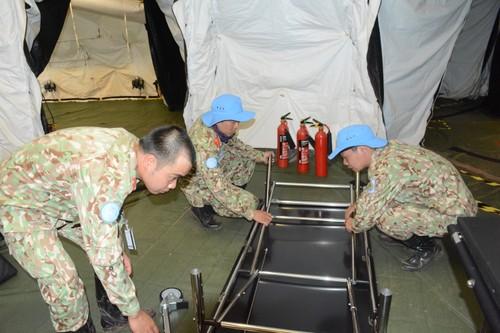 Bệnh viện Dã chiến cấp 2 Việt Nam triển khai tiếp nhận bệnh nhân tại Nam Sudan  - ảnh 6