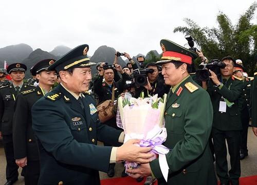 Giao lưu hữu nghị Quốc phòng biên giới Việt Nam – Trung Quốc lần thứ 5 - ảnh 1