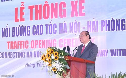 Thủ tướng phát lệnh thông tuyến nối hai cao tốc quan trọng - ảnh 2