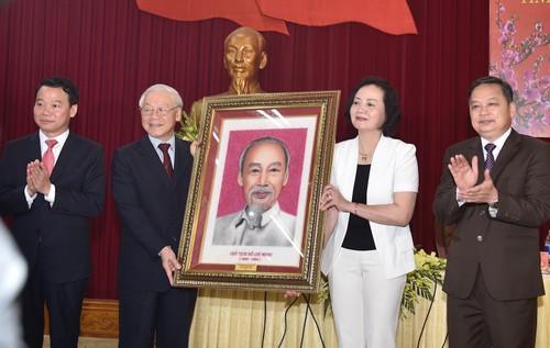 Tổng Bí thư, Chủ tịch nước Nguyễn Phú Trọng phát động Tết trồng cây - ảnh 6