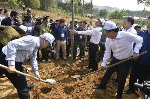 Tổng Bí thư, Chủ tịch nước Nguyễn Phú Trọng phát động Tết trồng cây - ảnh 3
