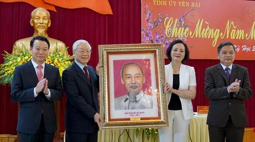 Tổng Bí thư, Chủ tịch nước Nguyễn Phú Trọng làm việc với Tỉnh Yên Bái - ảnh 4