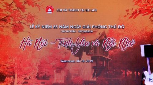 Câu lạc bộ Hà Thành, Ba Lan kỷ niệm 65 năm ngày Giải phóng thủ đô - ảnh 1