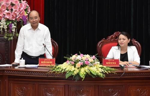 Thủ tướng: Ninh Bình phải trở thành tỉnh có động lực tăng trưởng mạnh - ảnh 1