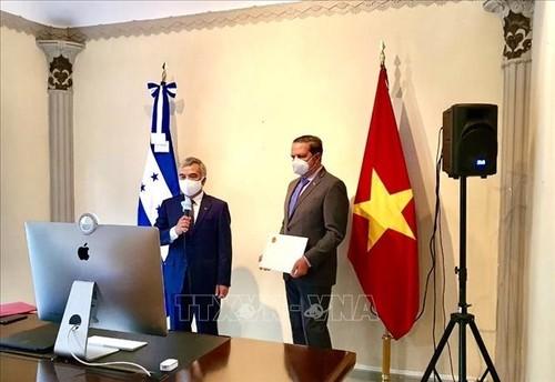 Honduras mong muốn thúc đẩy quan hệ hữu nghị và hợp tác với Việt Nam - ảnh 1