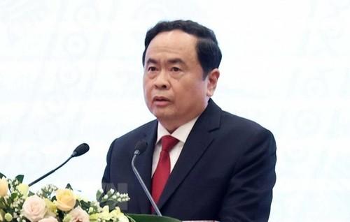 Ủy ban TW MTTQ Việt Nam điện thăm hỏi các tỉnh miền Trung - ảnh 1