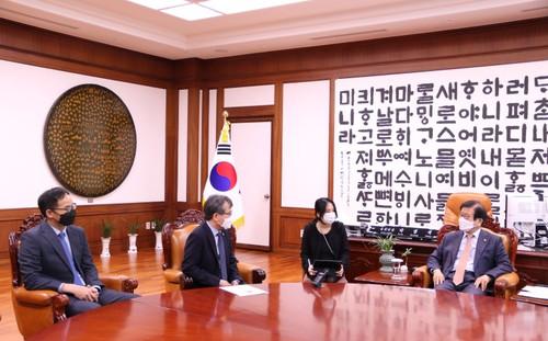 Hàn Quốc khẳng định Việt Nam là đối tác hợp tác trọng tâm trong chính sách hướng Nam mới - ảnh 1