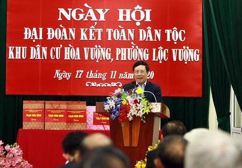 Tỉnh Nam Định tiếp tục tăng cường sức mạnh đại đoàn kết - ảnh 1