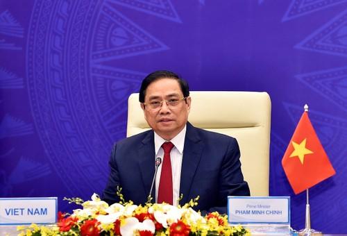 Thủ tướng Phạm Minh Chính: Chung tay xây dựng châu Á hòa bình, hợp tác, phát triển hơn nữa trong kỷ nguyên hậu COVID-19 - ảnh 1